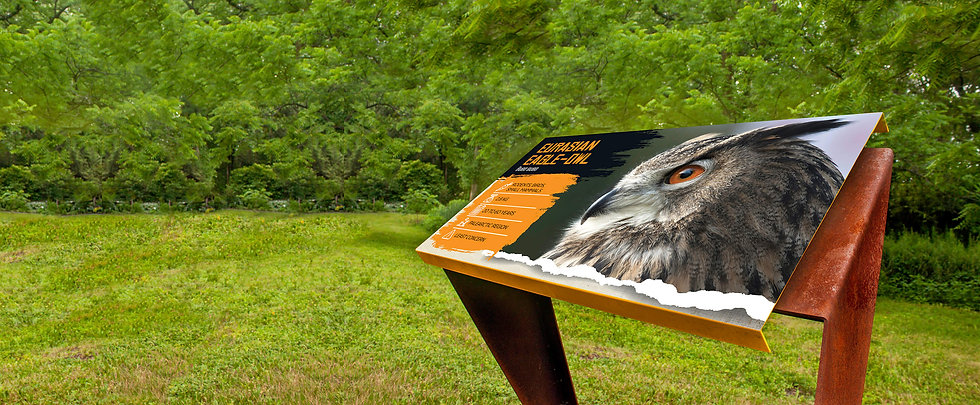 ALTO™ Aluminum Durable & Eco-Friendly Signs for Zoos