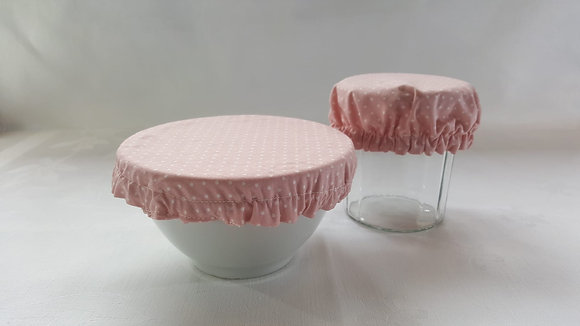 Couvre Plat Rond S - Rose