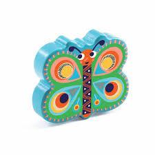 Hochet Papillon en bois