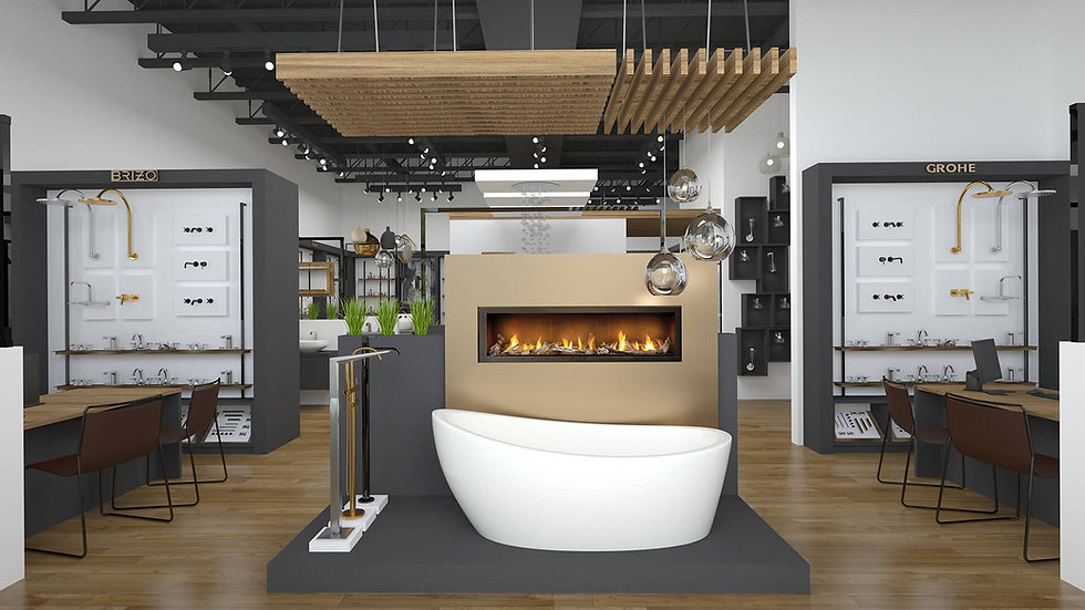 Trust the showroom experts to help you meet the new standards in physical retail sales with a showroom that stands out.
