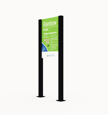 ALTO™ Sign and Panel Colonial-Style Mount.