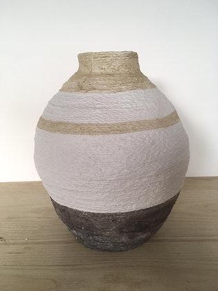 Vase céramique style jarre