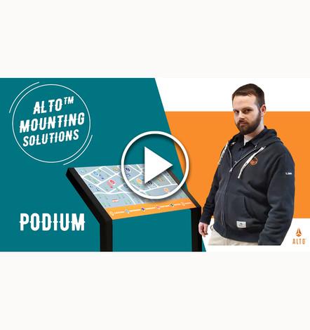Podium Mounting System Video