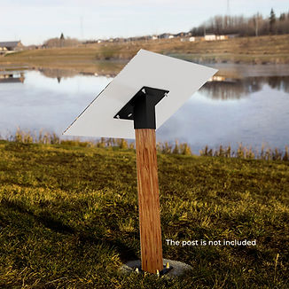 ALTO™ Sign and Panel. Slip-on Mount.