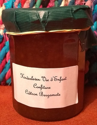 Confiture Citron Bergamote