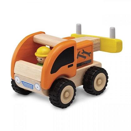 Petit camion dépanneur en bois