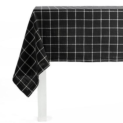 Nappe Noir/Blanc 150x250cm