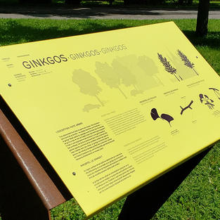 Durable powder-coated graphics solutions for signs, public art & more