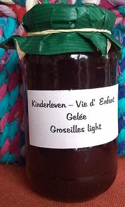 Gelée Groseilles Light