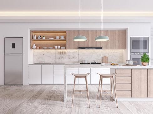 elegant-contemporary-kitchen-room-interi