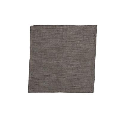 Serviettes Coton Brun/Gris