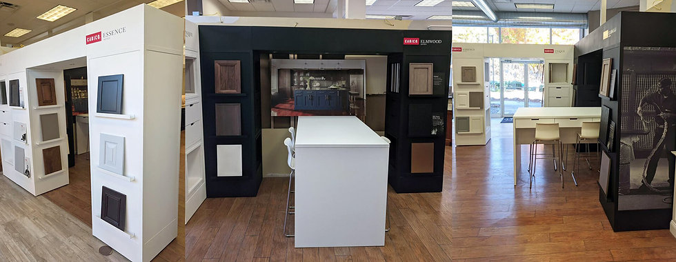 SH Design-Build your exclusive source for Showroom-Ready Displays.
