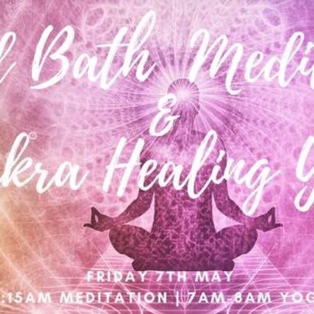 Sound Bath Meditation & Chakras Healing Yoga Masterclass