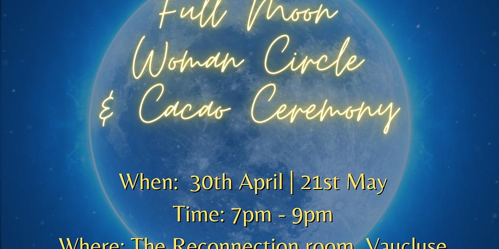Full Moon Women's Circle & Cacao Ceremony