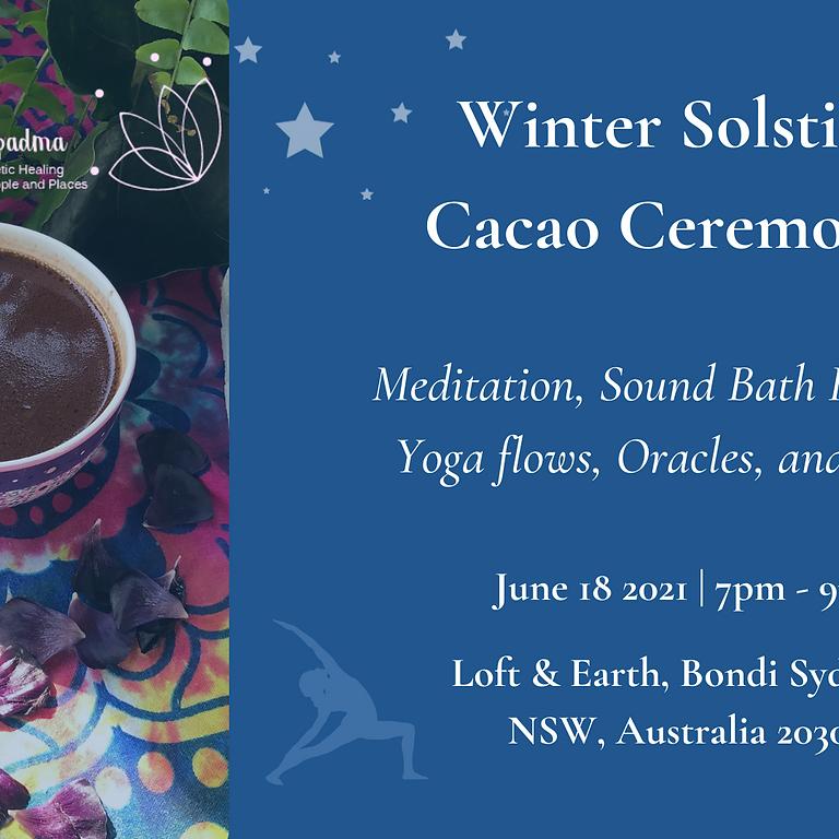 Winter Solstice Cacao Ceremony