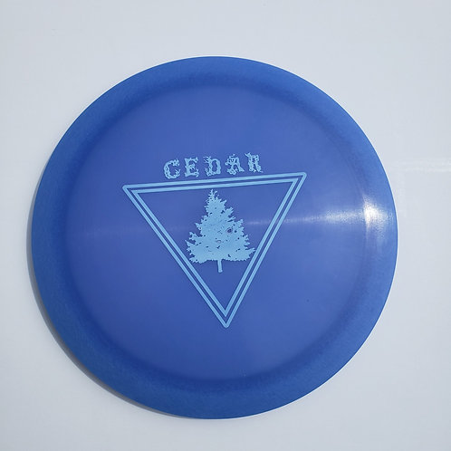 AGL CEDAR - INDIGO BLUE (Chainbang stamp)