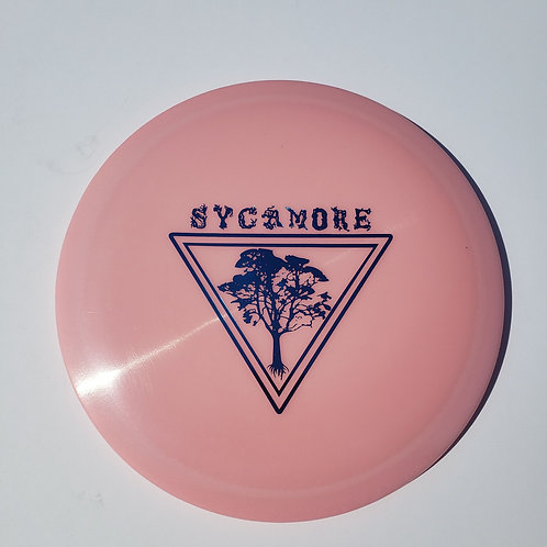 AGL DISCS SYCAMORE - PINK (Chainbang stamp)