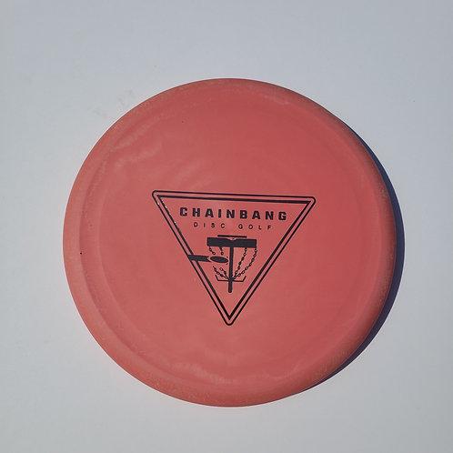 AGL DISCS MANZANITA - PINKY RED (Chainbang stamp)