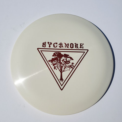 AGL DISCS SYCAMORE - WHITE (Chainbang stamp)