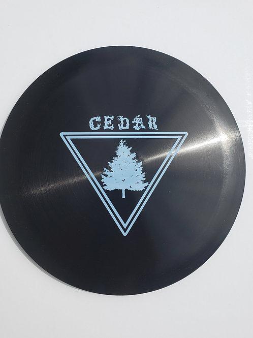 AGL CEDAR - BLACK (Chainbang stamp)