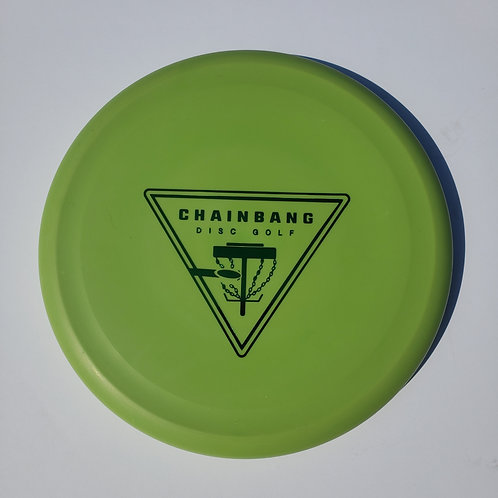 AGL DISCS MADRONE - GREEN (Chainbang stamp)