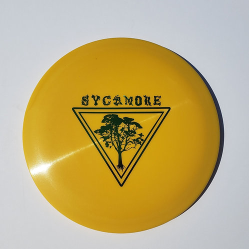 AGL DISCS SYCAMORE - YELLOW (Chainbang stamp)