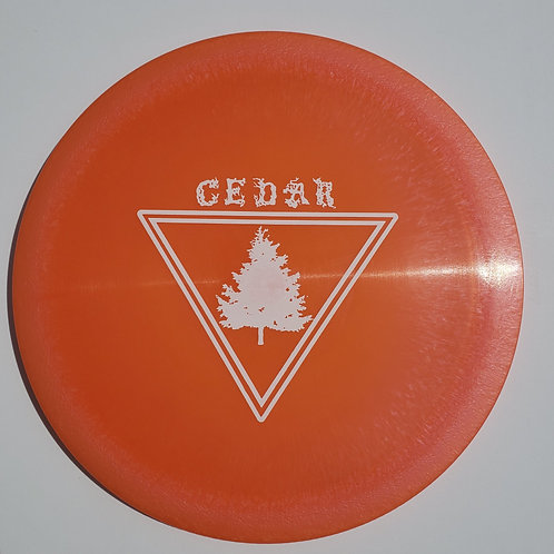 AGL CEDAR - SALMON (Chainbang stamp)