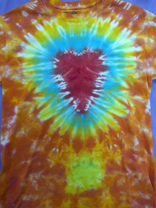 Sunburst Heart