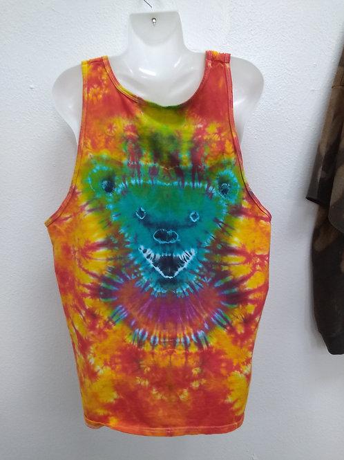 Blue bear Fire Dye