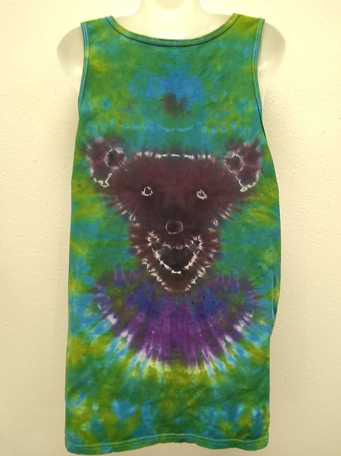 Green and Blue Dead Life Tank Top