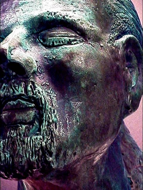 Bronze Selfie