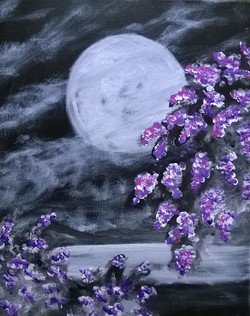 Moon Lit Lilacs