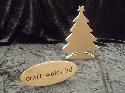 Christmas Tree Shape MDF Bundles