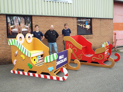 Extra Large Santa's Sleigh 2230mm
