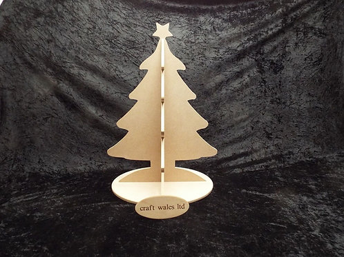Christmas Tree MDF Freestanding 600mm Tall