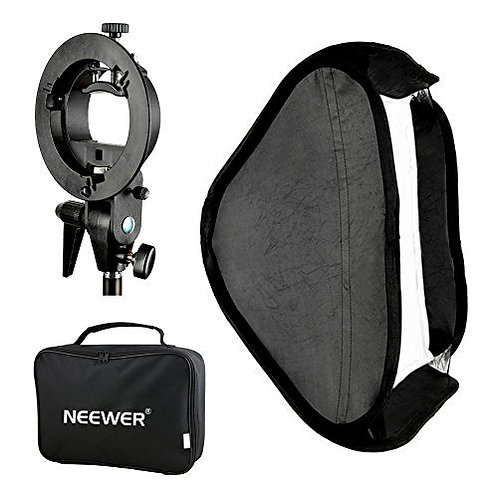 Softbox plegable Neewer 80x80 cm para flash speedlite