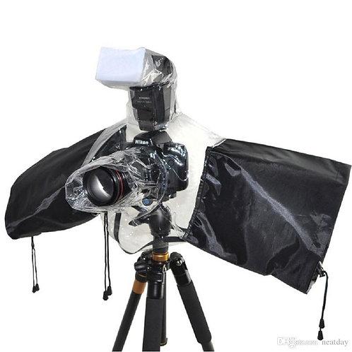 Protector de lluvia para cámara DSLR