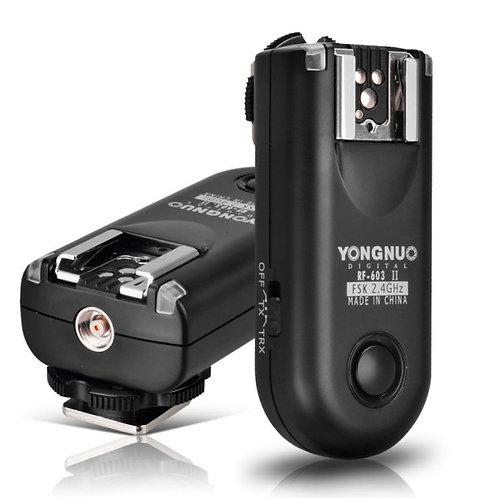 Transmisor/receptor Yongnuo para flash Nikon RF603N