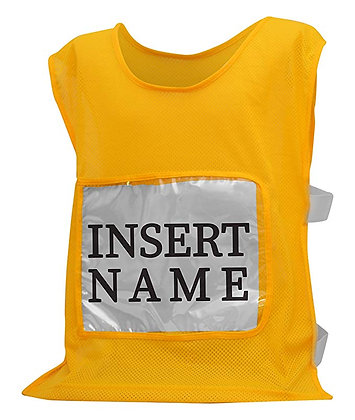 Yellow Tryout Pinnies