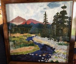 Metolius river framed