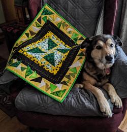 Sheba with Art Round Robin