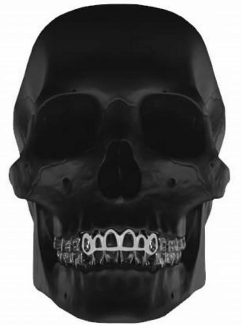 Fabuleux Grillz contours 6 dents argent | GRILLZKONECTION | Île-de-France  HG03