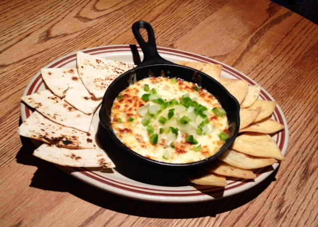 Mexican Gardens Queso Fundido photo.JPG