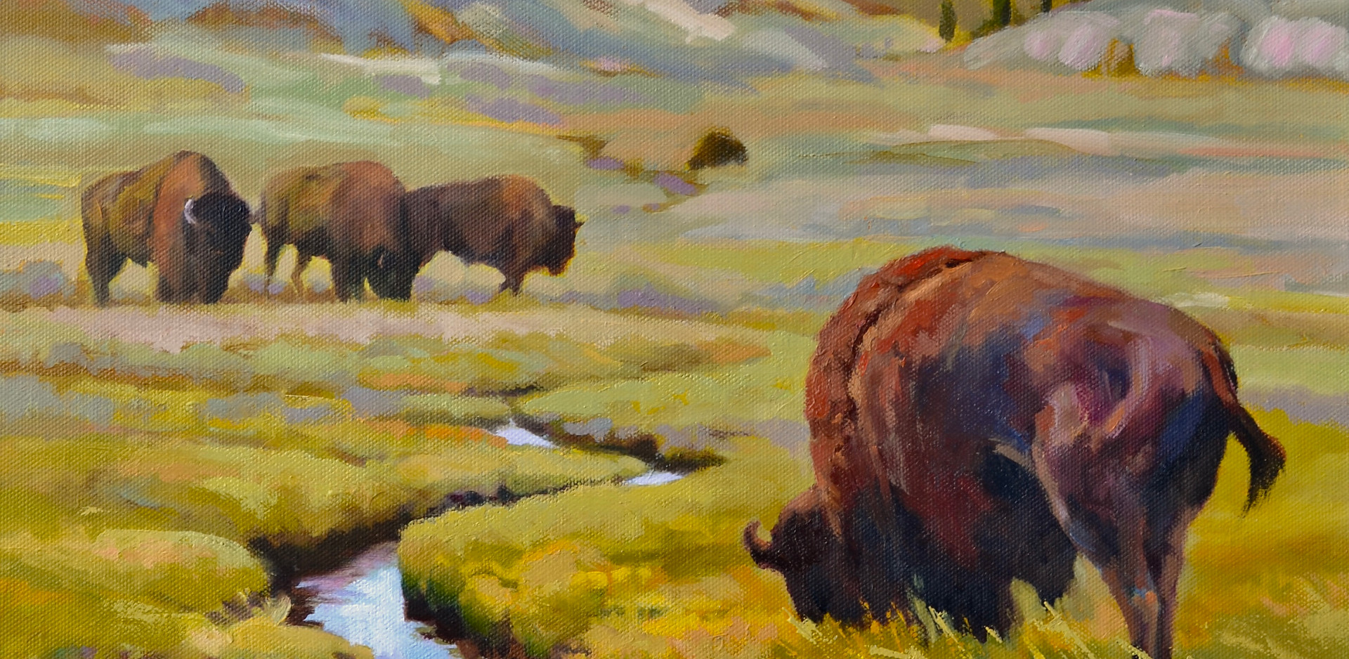 Summer's Pastures Oil 16X20 I'm SOLD but prints are available