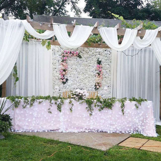 Todays Beautiful Outdoor Wedding... most
