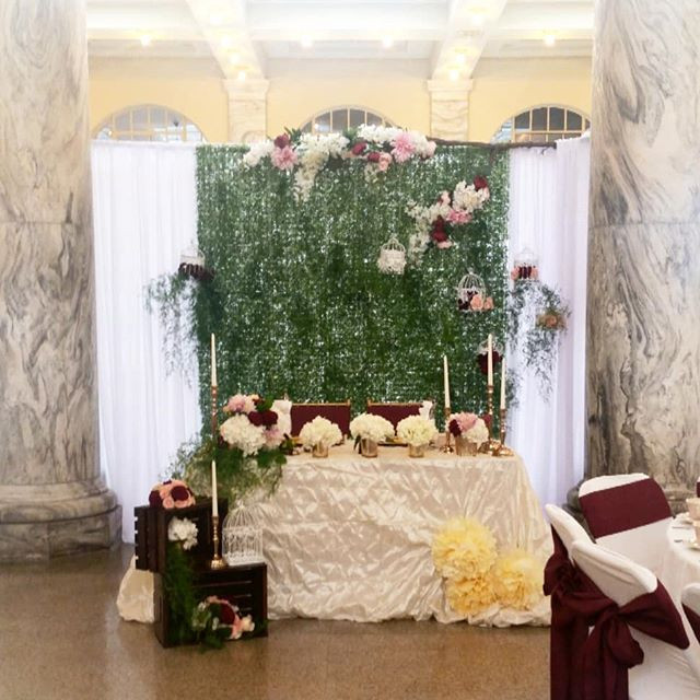 Garden Inspired Sweetheart Table!!! Abso