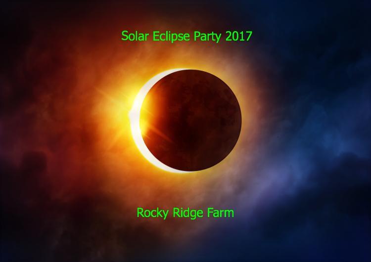 Solar Eclipse Party 2017