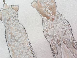 The April Bride II (detail)