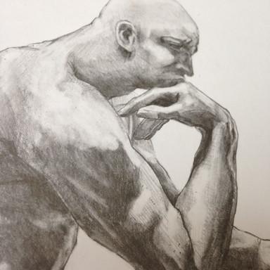 Thinker (detail)