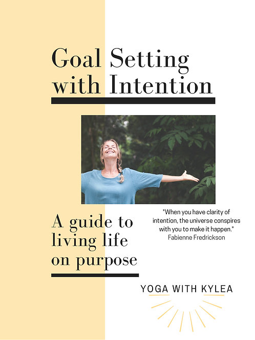 Goal Setting with Intention